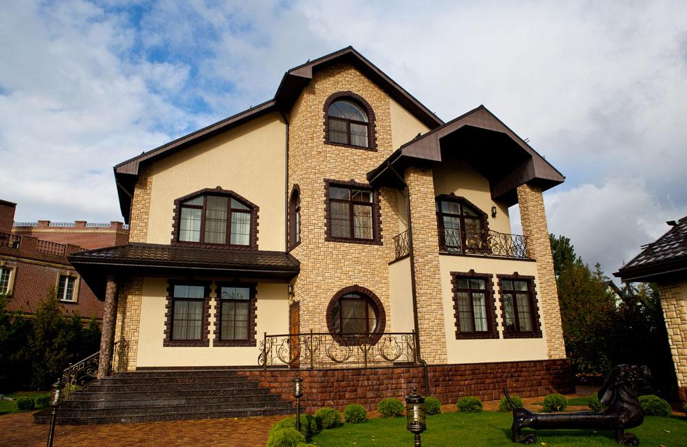 получилось, красивые фасады дома с декором фото одно