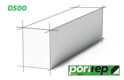 Газобетонный блок Poritep 150 мм D500  в по цене завода в Нижнем-Новгороде